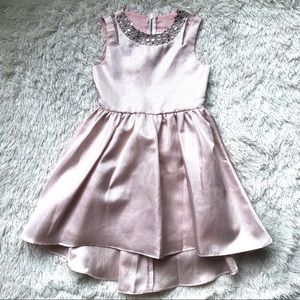 Rare Editions Girls Pink Shimmer Formal Dress